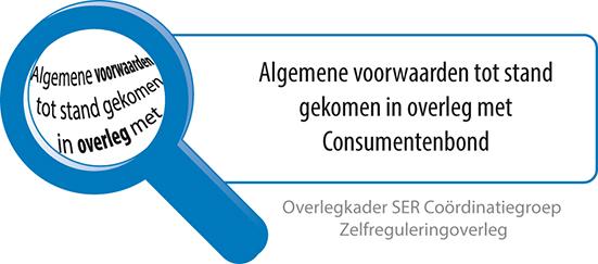 algemene voorwaarden consumentenbond